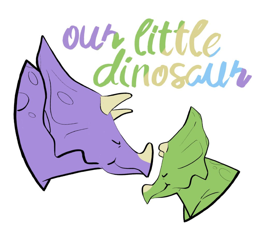 Our Little Dinosaur